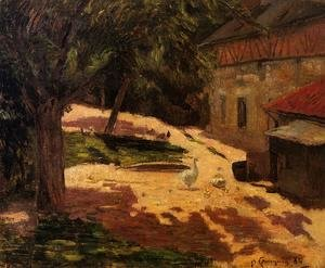 Paul Gauguin - Henhouse