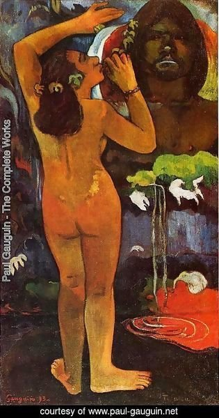 Paul Gauguin - Hina Tefatou Aka The Moon And The Earth