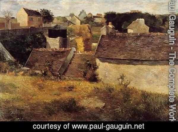 Paul Gauguin - Houses  Vaugirard