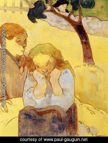 Paul Gauguin - Human Misery