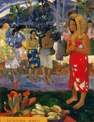 Paul Gauguin - Ia Orana Maria Aka Hail Mary