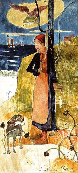 Paul Gauguin - Joan Of Arc