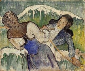 Paul Gauguin - Kelp Gatherers