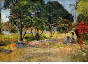 Paul Gauguin - Landscape With Three Trees