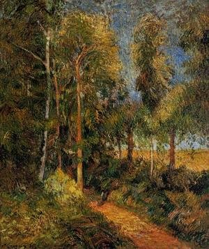 Paul Gauguin - Lane Through The Beaches