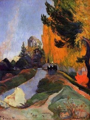 Paul Gauguin - Les Alychamps