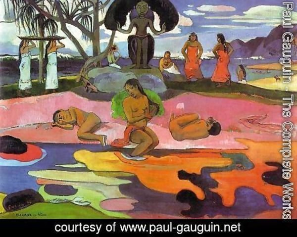 Paul Gauguin - Mahana No Atua Aka Day Of The Gods