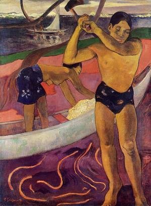 Paul Gauguin - Man With An Ax