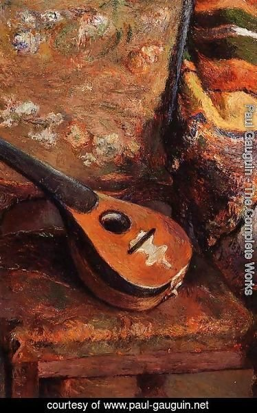 Paul Gauguin - Mandolin On A Chair