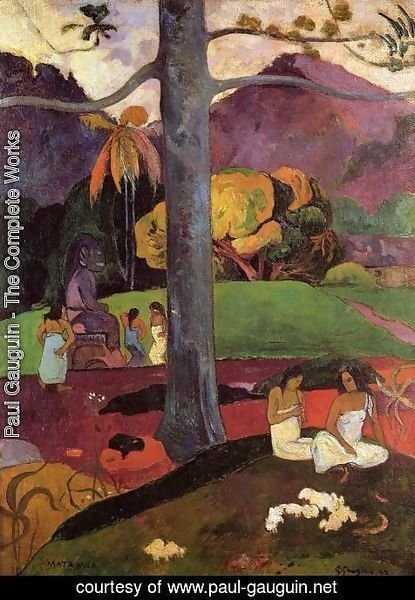 Paul Gauguin - Mata Mua