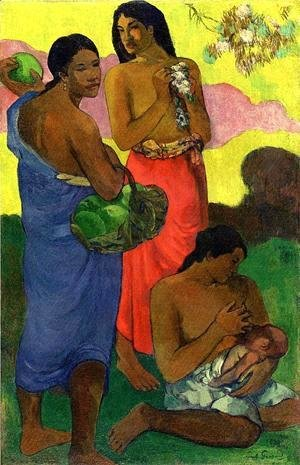 Paul Gauguin - Maternite (II)