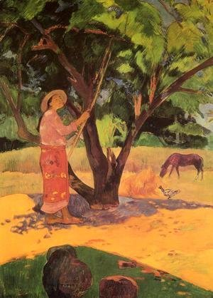 Paul Gauguin - Mau Taporo Aka The Lemon Picker