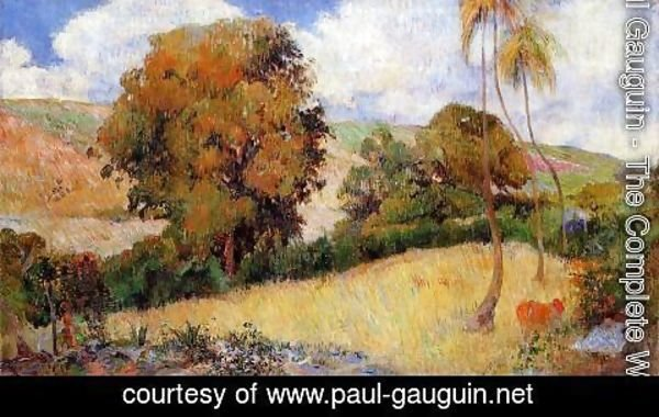 Paul Gauguin - Meadow In Martinique