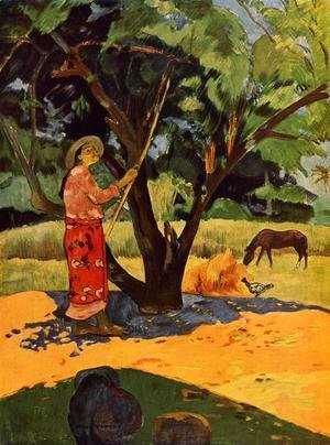 Paul Gauguin - Meu Taporo Aka Picking Lemons