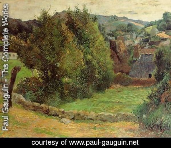 Paul Gauguin - Mount Sainte Marguerite From Near The Presbytery