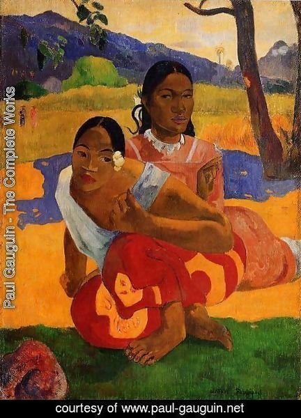 Paul Gauguin - Nafeaffaa Ipolpo Aka When Will You Marry