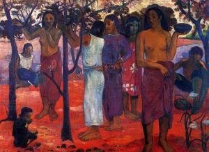 Paul Gauguin - Nave Nave Mahana Aka Delightful Day