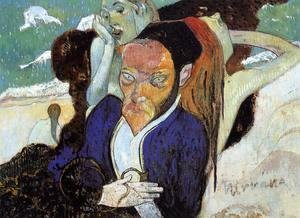 Paul Gauguin - Nirvana Aka Portrait Of Meyer De Hasn
