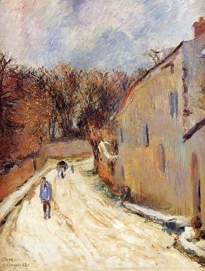 Paul Gauguin - Osny  Rue De Pontoise  Winter