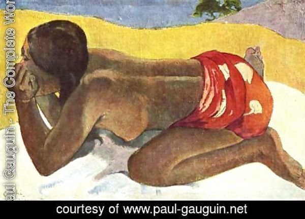 Paul Gauguin - Otahi Aka Alone