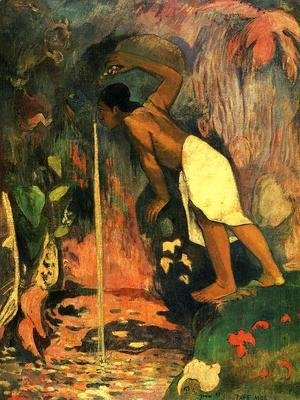 Paul Gauguin - Pape Moe Aka Mysterious Water