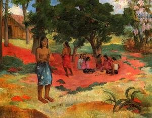 Paul Gauguin - Paru Paru Aka Whispered Words  II