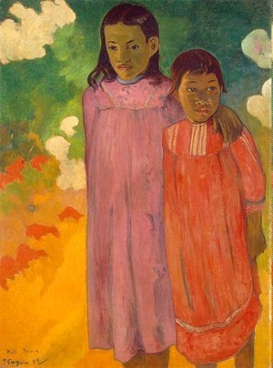 Paul Gauguin - Piti Teina Aka Two Sisters