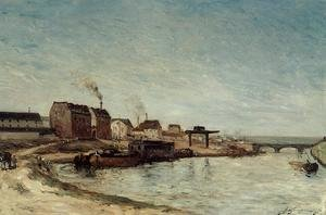 Paul Gauguin - Port De Grenelle2