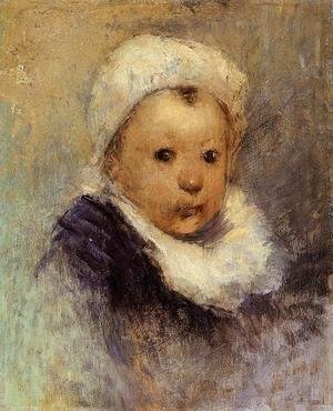 Paul Gauguin - Portrait Of A Child