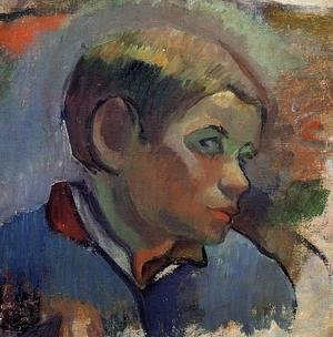 Paul Gauguin - Portrait Of A Little Boy
