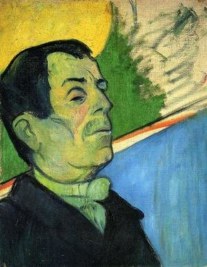 Portrait Of A Man Wearing A Lavalliere