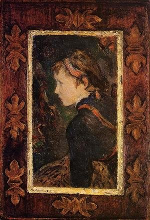 Paul Gauguin - Portrait Of Aline