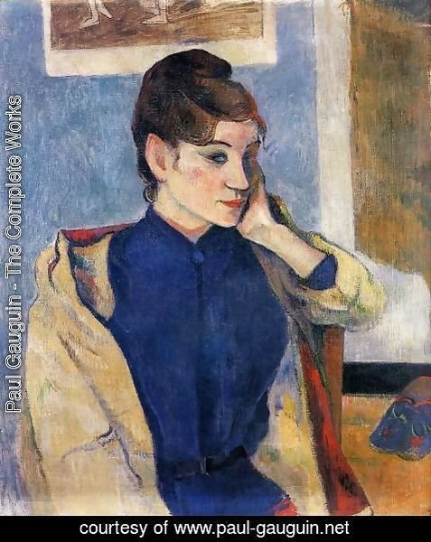 Paul Gauguin - Portrait Of Madeline Bernard
