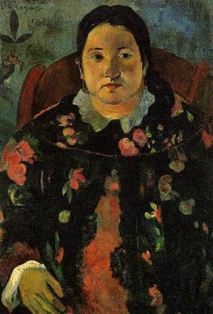 Paul Gauguin - Portrait Of Suzanne Bambridge