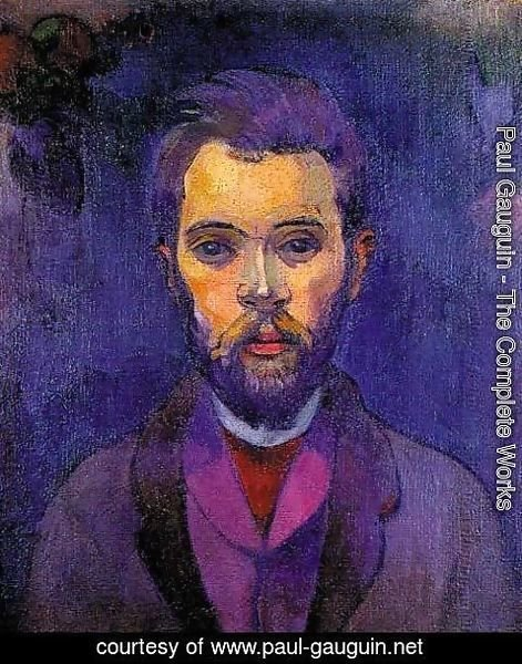 Paul Gauguin - Portrait Of William Molard