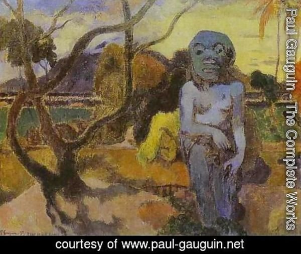 Paul Gauguin - Rave Te Htit Aamy Aka The Idol