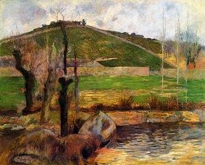 Paul Gauguin - River Aven Below Mount Sainte Marguerite