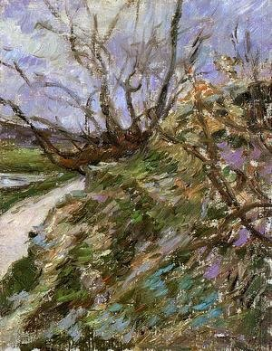 Paul Gauguin - River Bank In Winter (study)