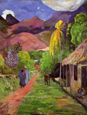 Paul Gauguin - Road In Tahiti