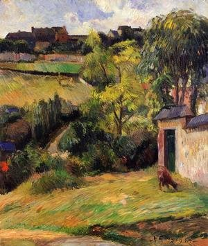 Paul Gauguin - Rouen Suburb