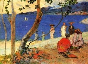 Paul Gauguin - Seashore  Martinique