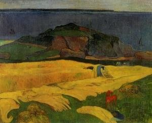 Paul Gauguin - Seaside Harvest  Le Pouldu