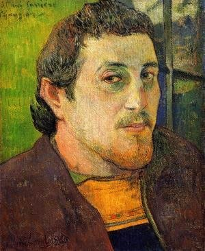 Paul Gauguin - Self Portrait At Lezaven