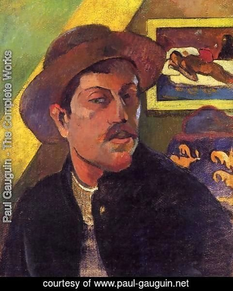 Paul Gauguin - Self Portrait With Hat