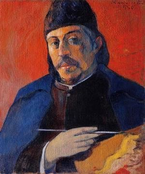 Paul Gauguin - Self Portrait With Palette
