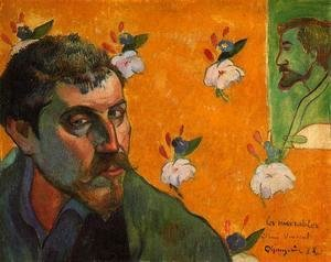 Paul Gauguin - Self Portrait  Les Miserables