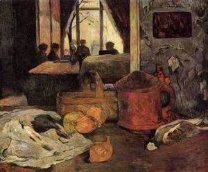 Paul Gauguin - Still Life In An Interior  Copenhagen
