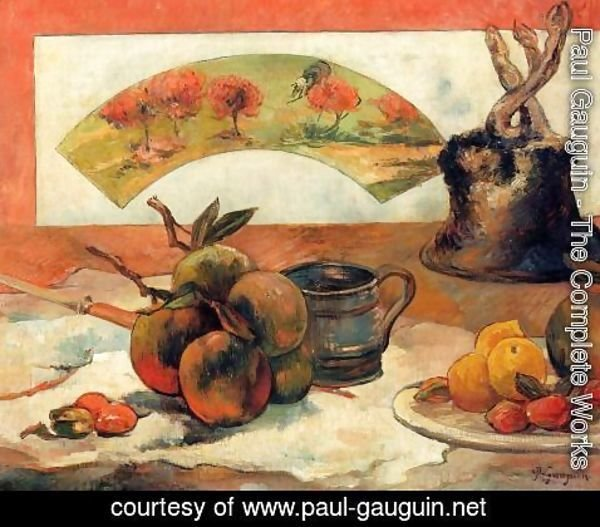 Paul Gauguin - Still Life With Fan