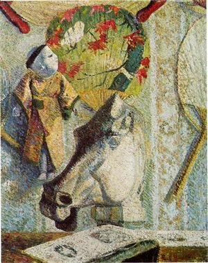 Paul Gauguin - Still Life With Horses Head