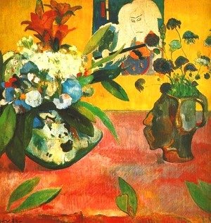 Paul Gauguin - Still Life With Japanese Print